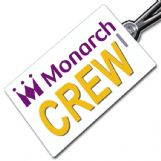 MONARCH AIRLINES Crew Tag